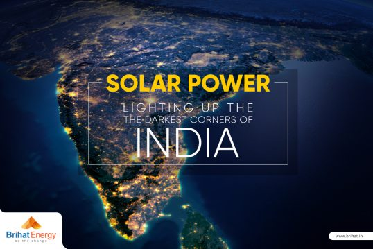 Solar Power  Lighting Up The Darkest Corners Of India